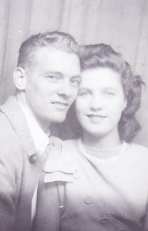 These are my grandparents... Taken a few days after their wedding